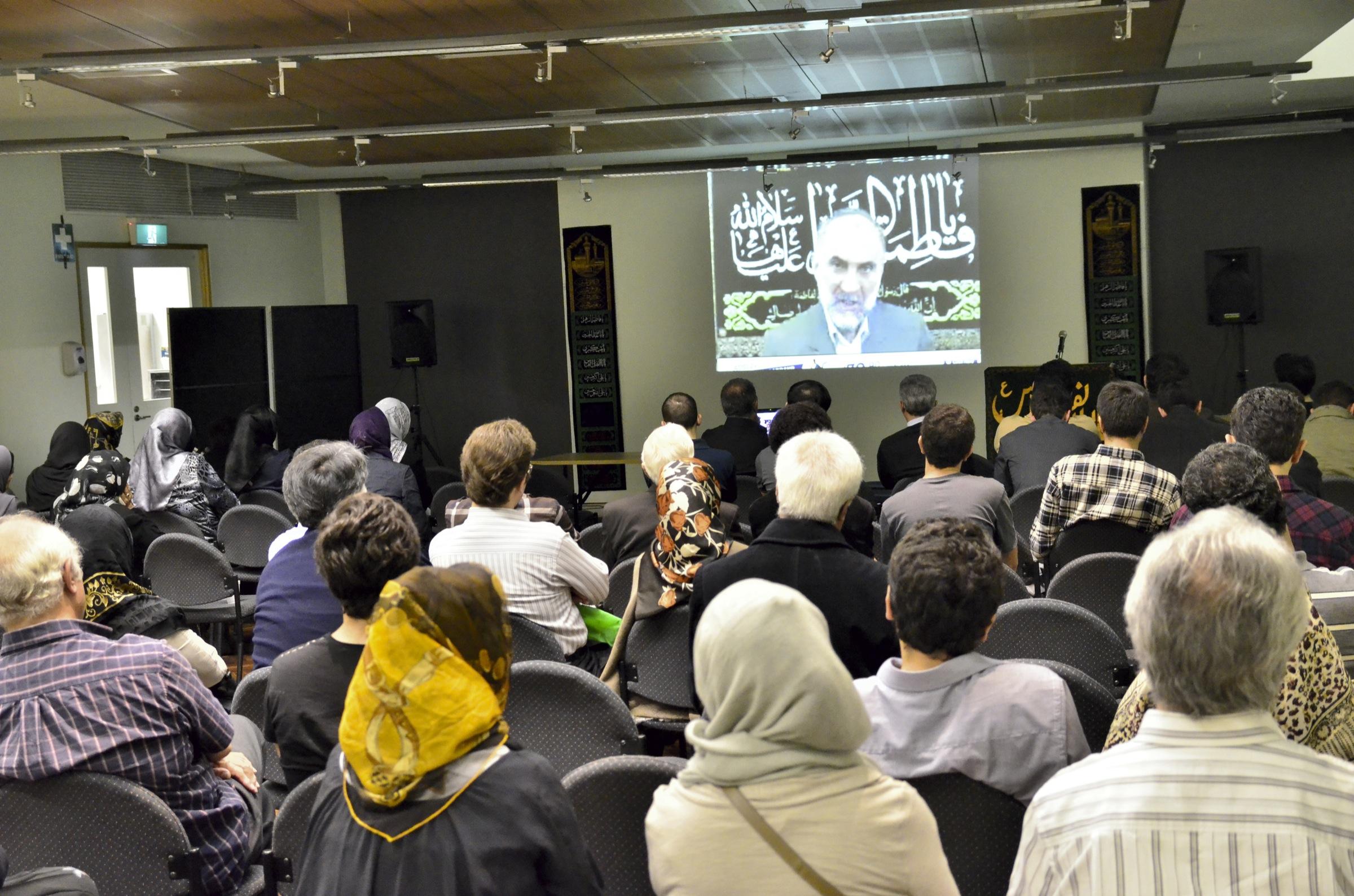 Dr Mir Bagheri lecture on Hazrat  Zahra